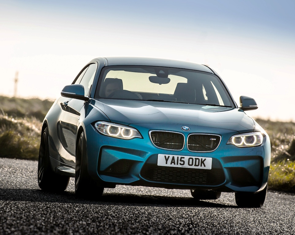BMW M2 coupe front action copy