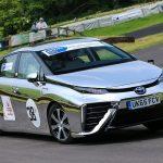 Toyota Mirai (Hydrogen Fuel Cell Car) Test-driven