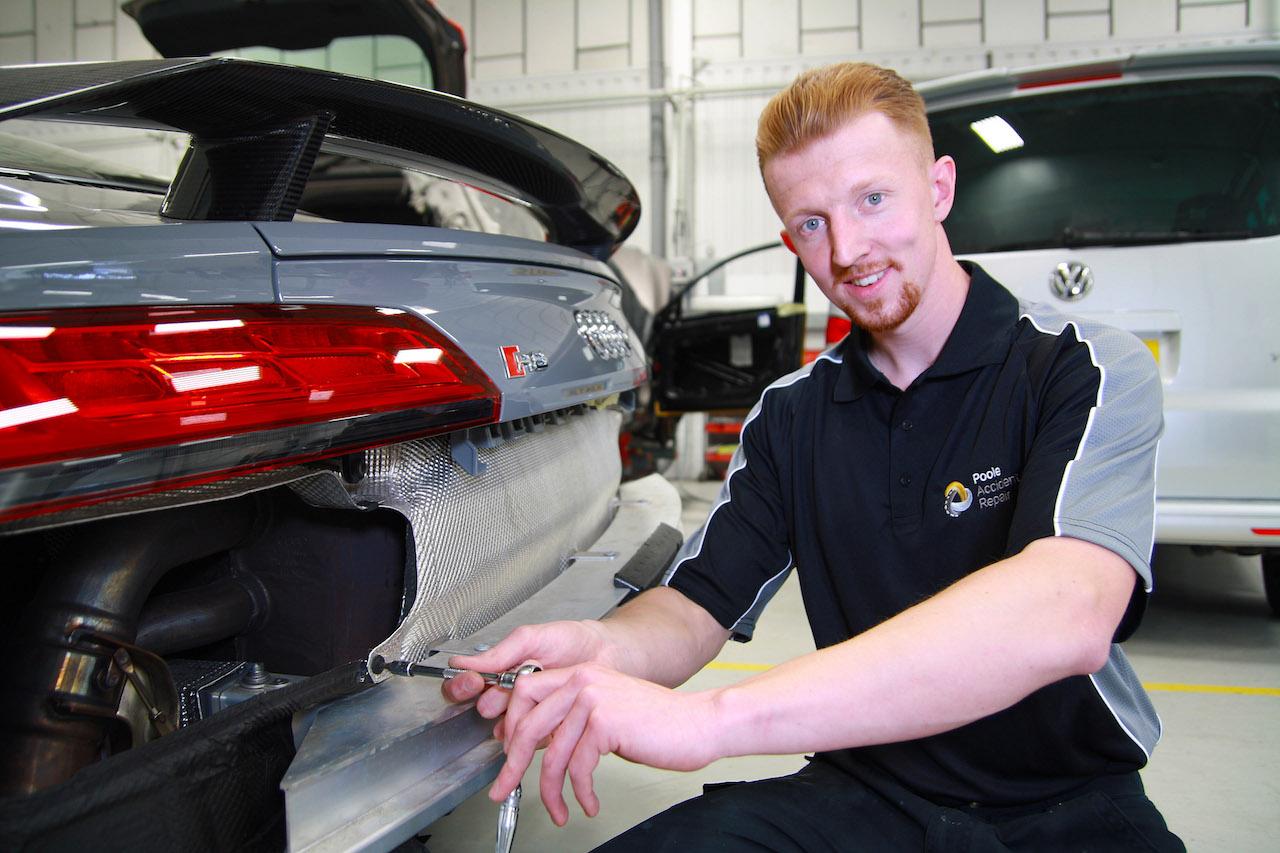 Poole Accident Repair's Sam O'Shea copy