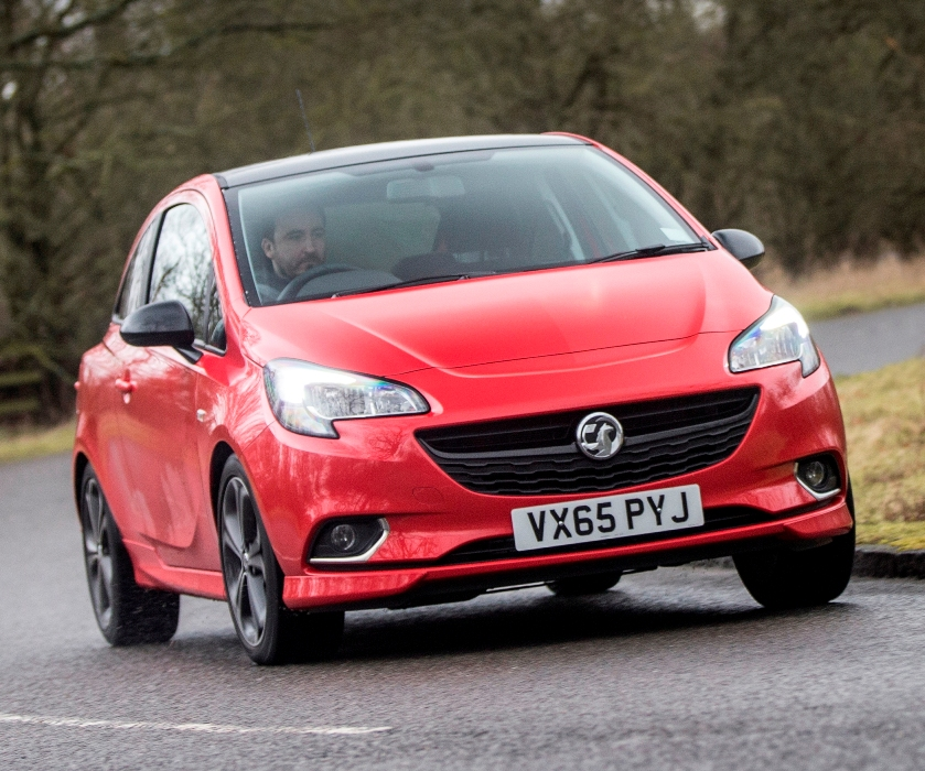 vauxhall-corsa-red-edition-front-action