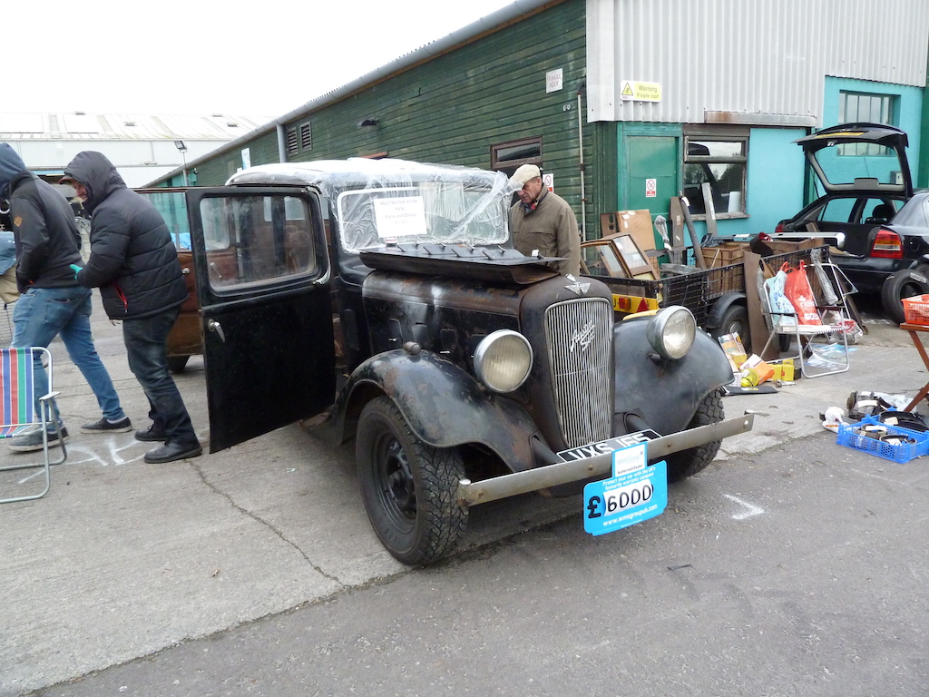 Anyone fancy a wonderful pre-War six cylinder Austin to bring back to its former glory?