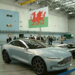 Aston Martin arrives in Wales!