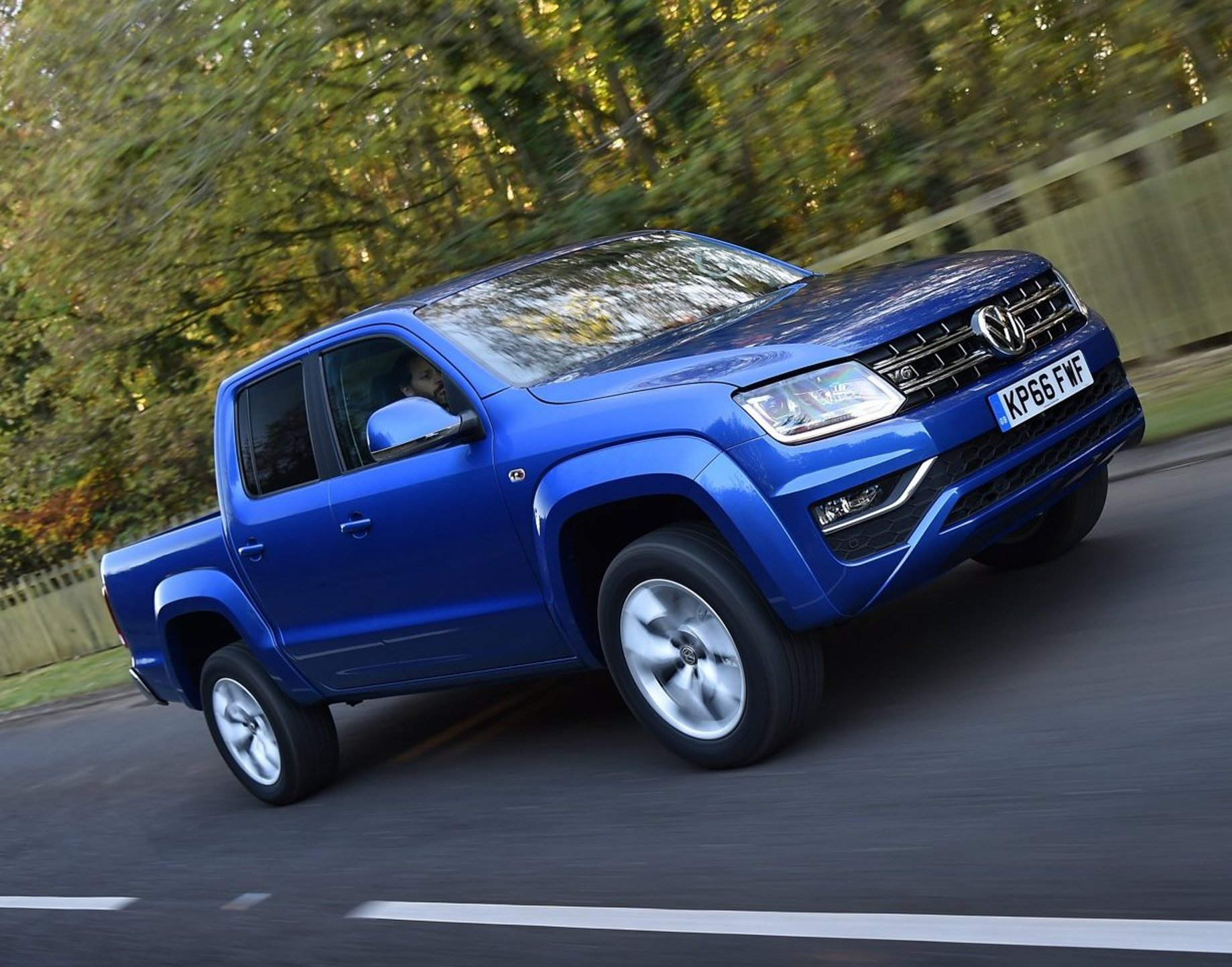 Volkswagen Amarok Aventura 30 V6 Double Cab Pick Up Road Test Description 3100 Enginejpg Vws