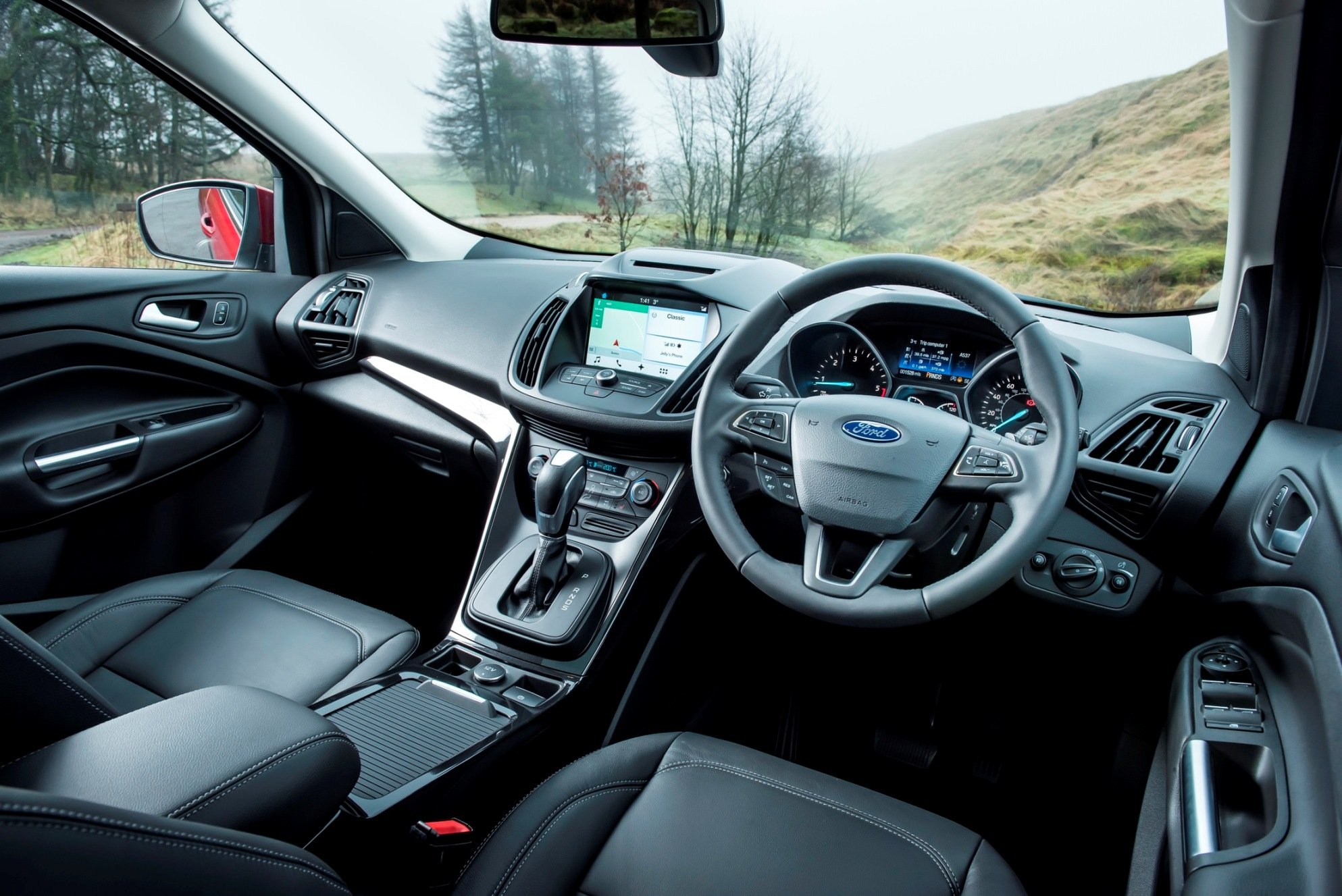 Updated ford kuga road test wheels alive for Interior ford kuga
