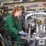 Classics News – First female workshop apprentice appointed at National Motor Museum, Beaulieu