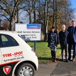 Firestone and Tyre Spot raise money for a north-east hospice