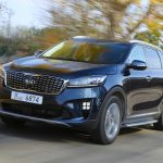 First Test Drive of the Kia Sorento in South Korea