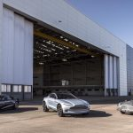 Aston Martin's new car-building facility in Wales takes shape