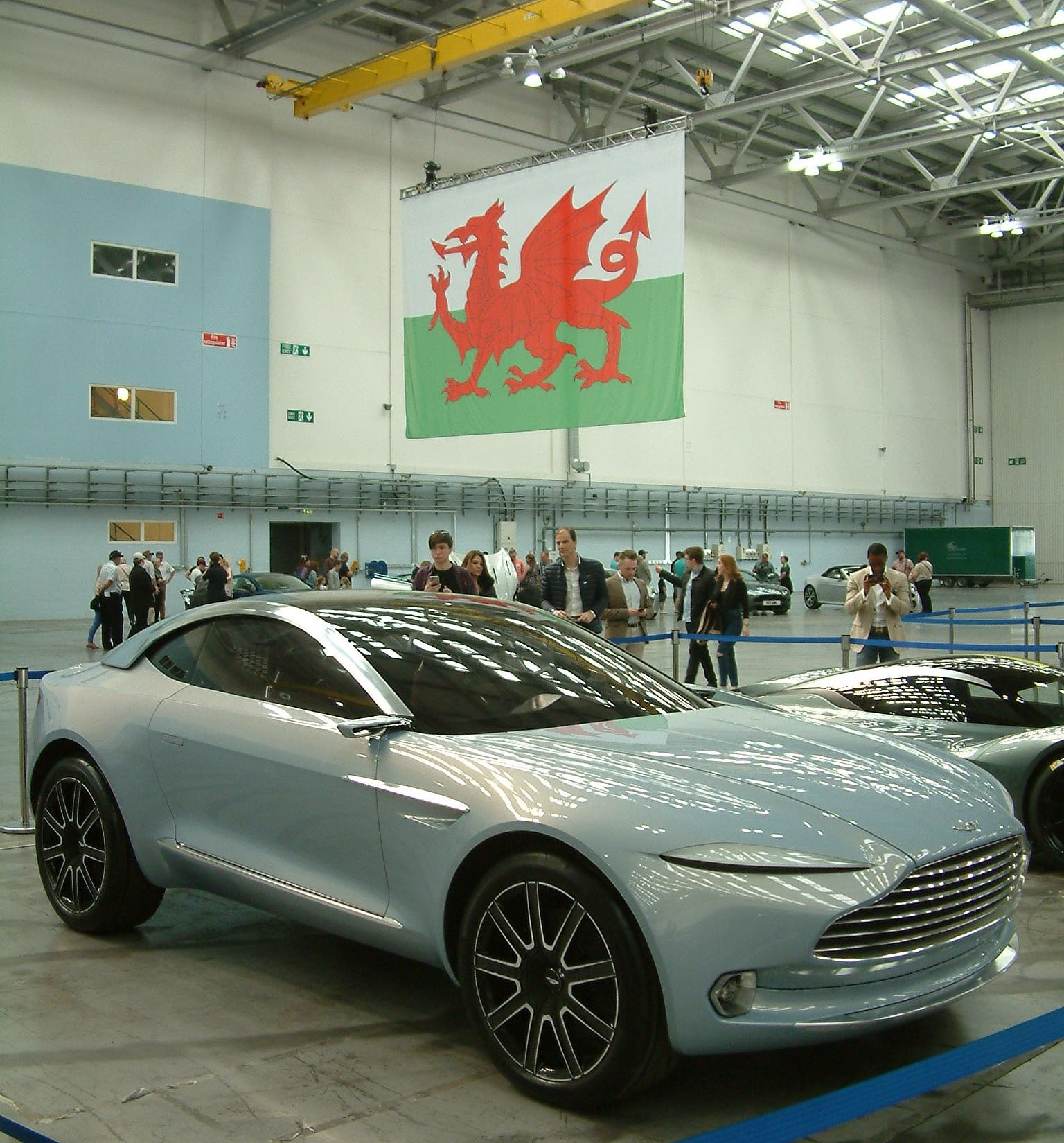 Aston Martin's New Car-building Facility In Wales Takes
