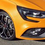 New Renault Mégane R.S. shod with Bridgestone Potenza S001 tyres