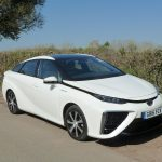 Hydrogen powered Toyota Mirai saloon – Brief First Impressions