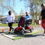 Mobility Scooter Safe Driving and Charity Awareness Day