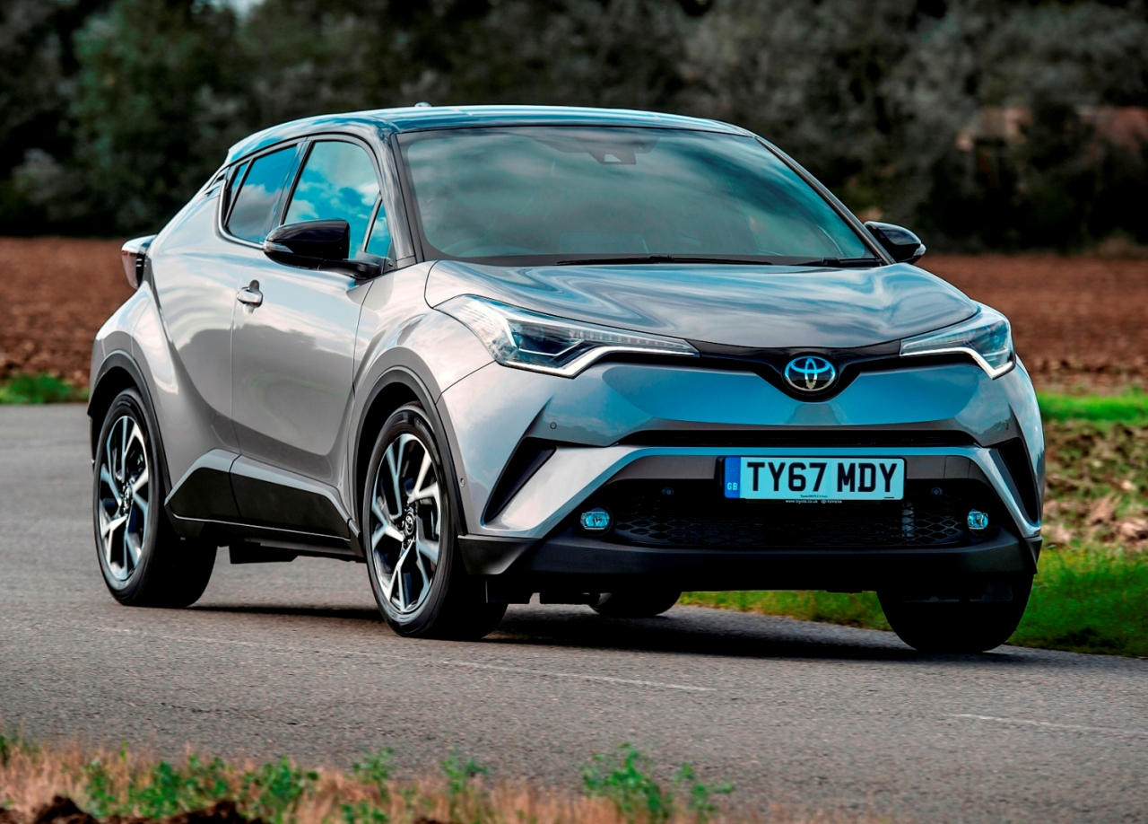 Latest Toyota C-HR 1.8 Hybrid