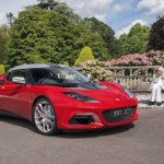 Hazel Chapman and the 100,000th Lotus – in the firm's 70th anniversary Celebrations
