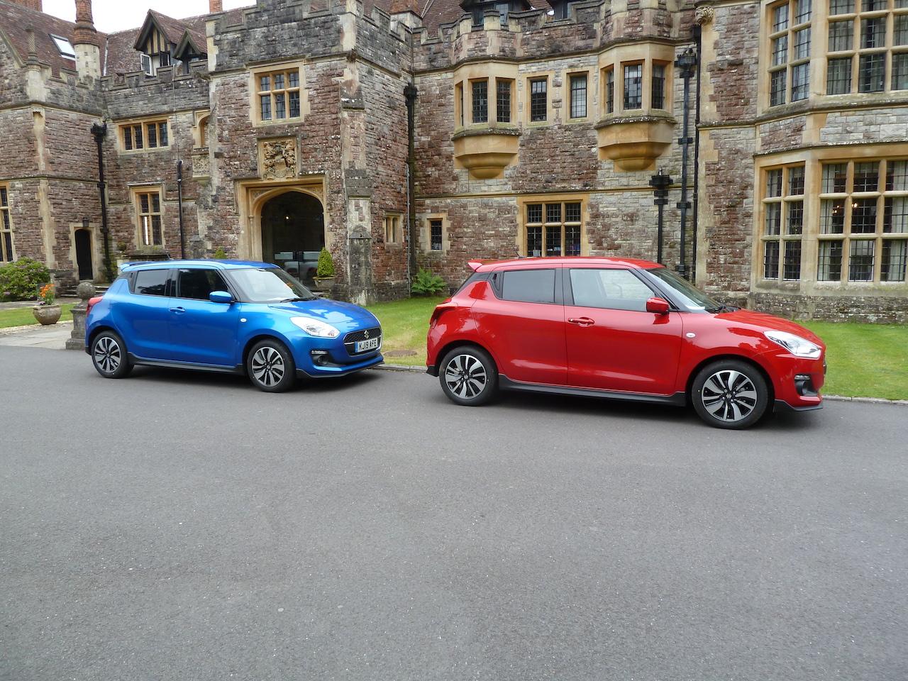 Suzuki Swift Attitude, Swift 4×4 hybrid and a Suzuki-powered